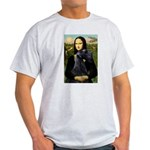 Mona Lisa /giant black Schnau Light T-Shirt
