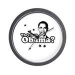 Who's your Obama? Wall Clock