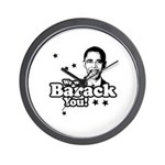 We will Barack you Wall Clock