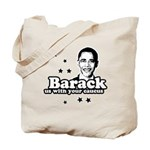 Barack us with your caucus Tote Bag
