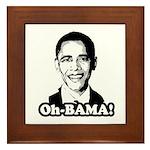 Oh-BAMA Framed Tile