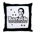 Barack the White House Throw Pillow