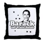 Barack the White House Throw Pillow
