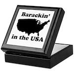 Barackin' in the USA Keepsake Box