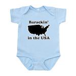 Barackin' in the USA Infant Bodysuit