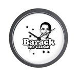 Barack the Casbah Wall Clock