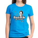 Barack the people Women's Dark T-Shirt