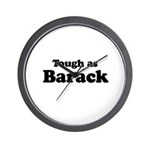 Tough as Barack Wall Clock