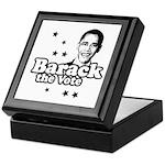Barack the vote Keepsake Box