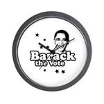 Barack the vote Wall Clock