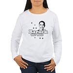 Barack the vote Women's Long Sleeve T-Shirt