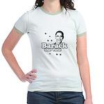 Barack the vote Jr. Ringer T-Shirt