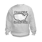 Barackin' in the USA Kids Sweatshirt
