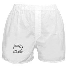 Barackin' in the USA Boxer Shorts