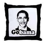 Gobama Throw Pillow