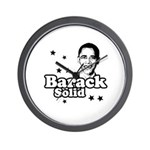 Barack Solid Wall Clock