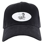 Barack Solid Black Cap