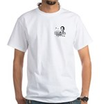 Barack Solid White T-Shirt