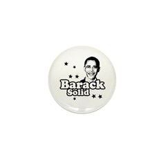 Barack Solid Mini Button (100 pack)
