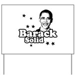 Barack Solid Yard Sign
