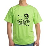 Barack Solid Green T-Shirt
