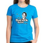 Barack Solid Women's Dark T-Shirt
