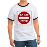 Do Not Enter -  T