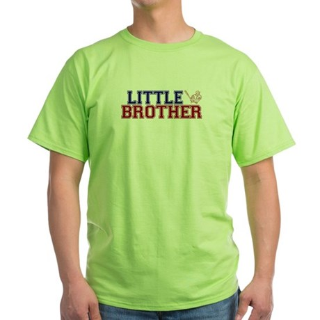 Little Brother Baseball Green T-Shirt