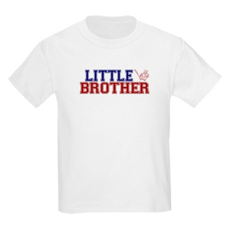 Little Brother Baseball Kids Light T-Shirt
