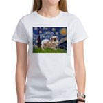 Starry / Tibetan Spaniel Women's T-Shirt