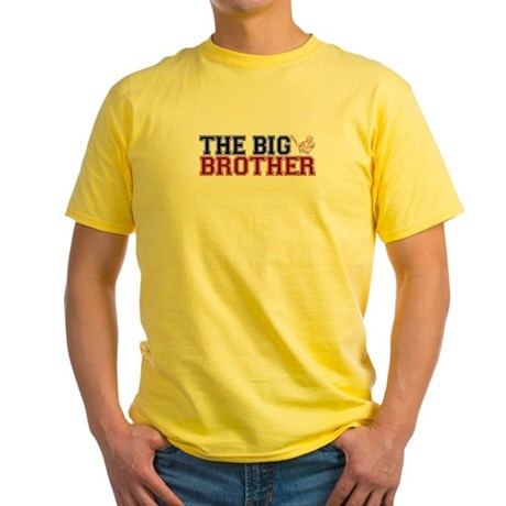 The Big Brother Baseball Yellow T-Shirt