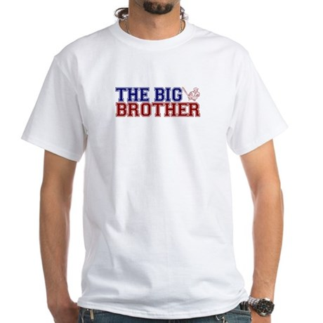 The Big Brother Baseball White T-Shirt