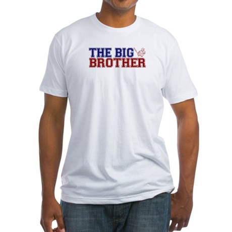 The Big Brother Baseball Fitted T-Shirt
