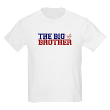 The Big Brother Baseball Kids Light T-Shirt