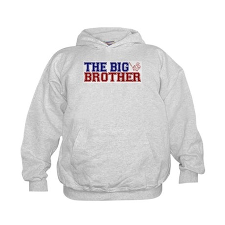 The Big Brother Baseball Kids Hoodie