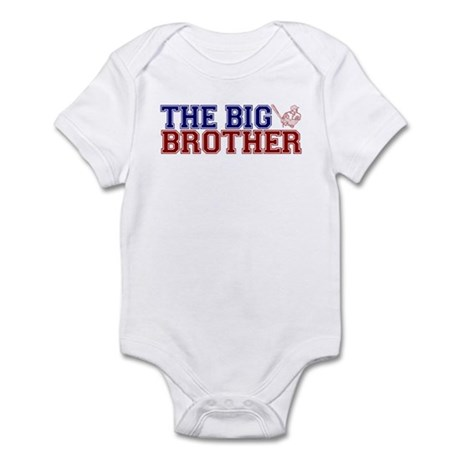 The Big Brother Baseball Infant Bodysuit