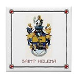 Tile Coaster - SAINT HELENA