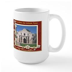 The Alamo #1 Large Mug