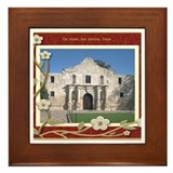 The Alamo #1 Framed Tile