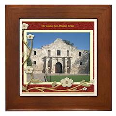 The Alamo #1 Framed Tile