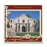 The Alamo #1 Tile Coaster