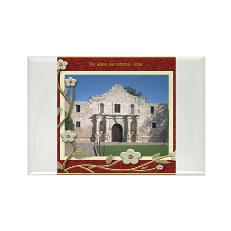 The Alamo #1 Rectangle Magnet