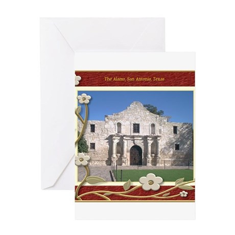 The Alamo #1 Greeting Card