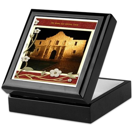 The Alamo #3 Keepsake Box