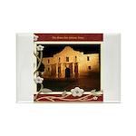 The Alamo #3 Rectangle Magnet