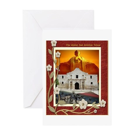 The Alamo #5 Greeting Card