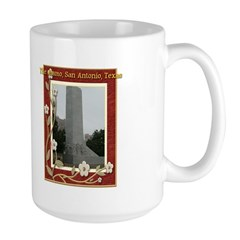 The Alamo #8 Large Mug