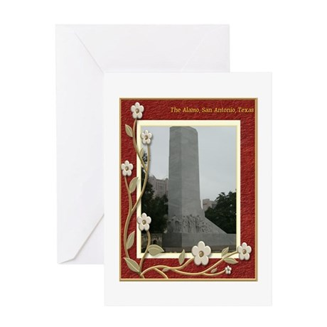 The Alamo #8 Greeting Card