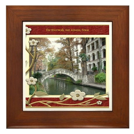 The Riverwalk #1 Framed Tile