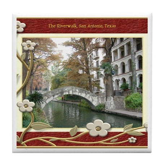 The Riverwalk #1 Tile Coaster